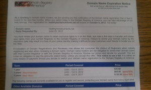 domain mailing
