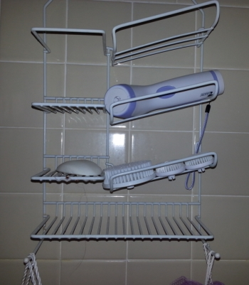 shower storage 350