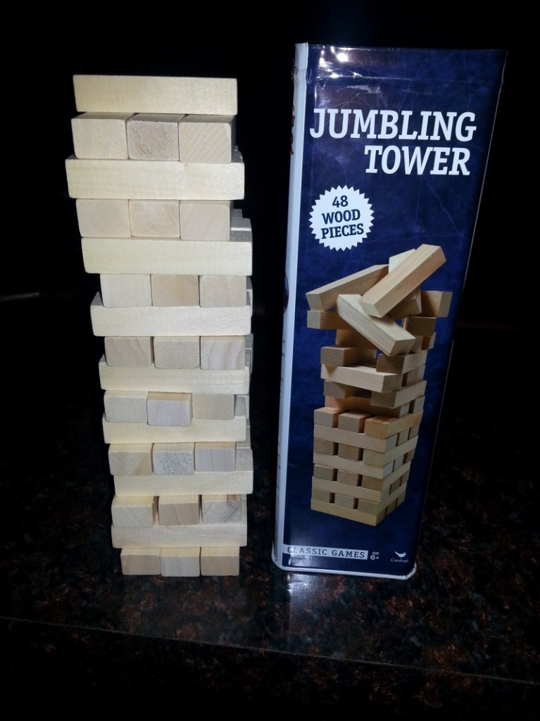 Jenga imaitation stupid buy