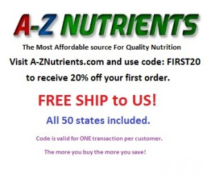 AZ Nutrients firstr 20 image