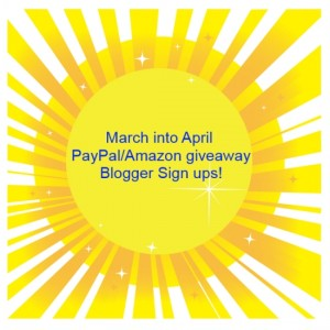 March into April giveaway 2014