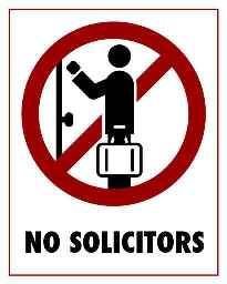 no solicitors 50 percent